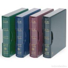 Sellos: LEUCHTTURM 334295 LEUCHTTURM TAPA CON BARRA ROTATIVA CON CAJETÍN PROJOECTOR EN D. Lote 195066283