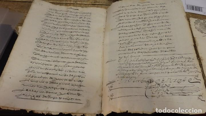 Sellos: papel timbrado fiscal,1666, sello 2º de 68 maravedis timbrologia ,manuscrito 23 paginas, Cazorla - Foto 3 - 124439167