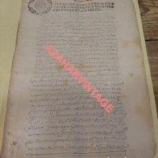 Sellos: PAPEL TIMBRADO FISCAL,1667, SELLO 4º DE 10 MARAVEDIS TIMBROLOGIA ,MANUSCRITO 8 PAGINAS, CAZORLA. Lote 124501043