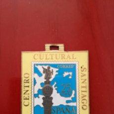 Sellos: MEDALLA CENTRO CULTURAL SANTIAGO BARCELONA 1970. Lote 128078535