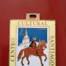 Sellos: MEDALLA CENTRO CULTURAL SANTIAGO, BARCELONA 1973. Lote 128081342