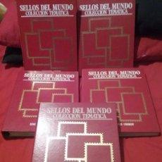Sellos: SELLOS DEL MUNDO COLECCION TEMATICA. Lote 133678350