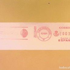 Sellos: CORREOS - FRANQUEO DE MÁQUINA - ESCUELA SUPERIOR DE INGENIEROS INDUSTRIALES - SAN SEBASTIAN.. Lote 134222954