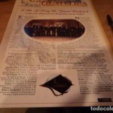 Sellos: GACETA FILATÉLICA. AÑO I, Nº 2 SEPTIEMBRE DE 2000. EXPOSICIÓN MUNDIAL DE FILATELIA.. Lote 137781750