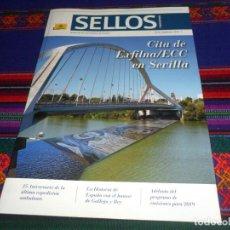 Sellos: REVISTA SELLOS Y MUCHO MÁS Nº 53. SEPTIEMBRE 2018. CITA DE EXFILNA/ECC EN SEVILLA. MBE.. Lote 139070266