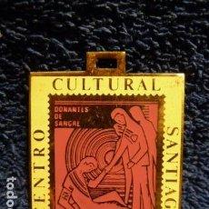 Sellos: MEDALLA CENTRO CULTURAL SANTIAGO 1976 FILATELIA. Lote 139252046