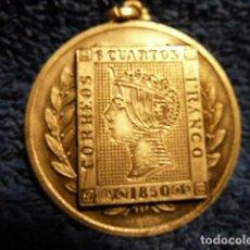 Sellos: MEDALLA II EXPOSICION FILATELICA Y NUMISMATICA MARTORELL1965. Lote 139252186