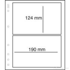 Sellos: LEUCHTTURM 321047 MOC HOJAS EN BLANCO-LB CON HOJA PROTECTORA, 2 DIVISIONES. Lote 139862812