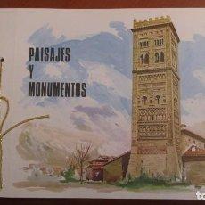 Sellos: FERIA NACIONAL DEL SELLO - FNMT - PAISAJES Y MONUMENTOS. Lote 140642182
