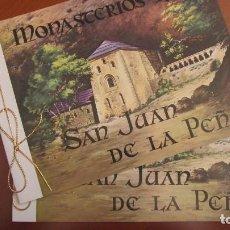 Sellos: FERIA NACIONAL DEL SELLO - FNMT - MONASTERIOS: SAN JUAN DE LA PEÑA. Lote 140643502