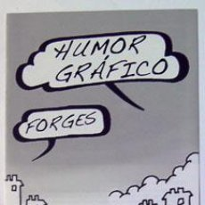 Sellos: SELLOS FILATELIA DÍPTICO INFORMATIVO HUMOR GRÁFICO FORGES. Lote 141552718