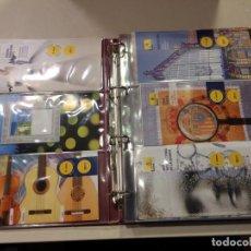 Sellos: COLECCION 149 FOLLETOS INFORMATIVOS DE EMISIONES ENTRE LOS AÑOS 2011 Y 2014 - EN ALBUM CON FUNDAS. Lote 145158374