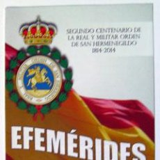 Sellos: SELLOS FILATELIA FOLLETO INFORMATIVO EFEMÉRIDES CESEDEN 2014. Lote 147655586
