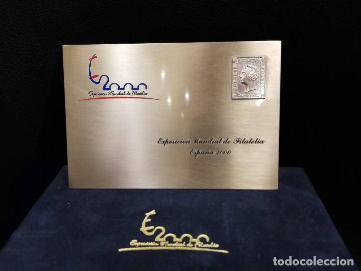 EXPOSICIÓN MUNDIAL DE FILATELIA - ESPAÑA 2000 (Sellos - Material Filatélico - Otros)