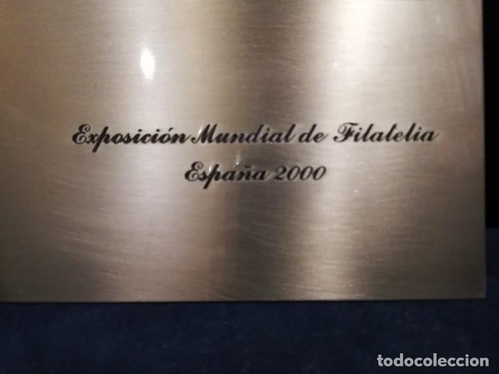 Sellos: EXPOSICIÓN MUNDIAL DE FILATELIA - ESPAÑA 2000 - Foto 4 - 161092908