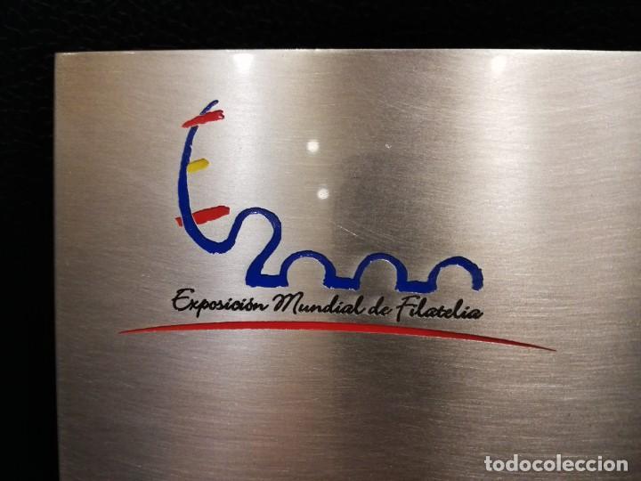 Sellos: EXPOSICIÓN MUNDIAL DE FILATELIA - ESPAÑA 2000 - Foto 6 - 161092908