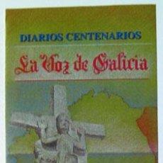 Sellos: SELLOS FILATELIA DÍPTICO INFORMATIVO DIARIOS CENTENARIOS LA VOZ DE GALICIA AÑO 2003. Lote 151147034