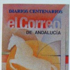 Sellos: SELLOS FILATELIA DÍPTICO INFORMATIVO DIARIOS CENTENARIOS EL CORREO DE ANDALUCÍA VER FOTO ADICIONAL . Lote 152218182