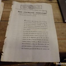Sellos: PAPEL SELLADO - TIMBROLOGÍA - AÑO DE 1834 - SELLO DE OFICIO DE CUATRO MARAVEDÍES. Lote 157816522