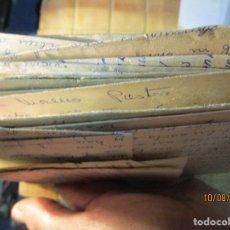 Sellos: GRUPO LOGISTICO XXXII TRANSPORTES CARTAGENA LOTE CARTAS ANTIGUAS ALICANTE MILITAR. Lote 158487230