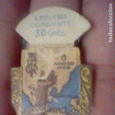 Sellos: EMBLEMA CORRIENTE 30 CTS ARMAS GENIO FRANCO CONVOY VICTORIA SERIE E Nº 3 AUXILIO SOCIAL. Lote 159411774