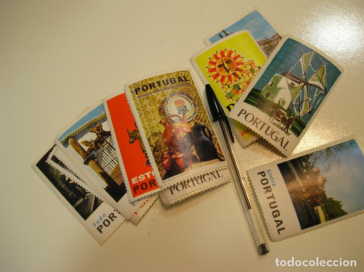 Sellos: portugal sellos estampitas recordatorios elementos coleccionables........... lote de 17 (19) - Foto 3 - 160549474