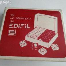 Sellos: ANTIGUA CAJA DE EDIFIL SELLOS . Lote 165167778