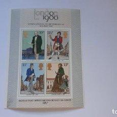 Sellos: GREAT BRITAIN 1980 LONDON 1980 ROWLAND HILL MINISHEET MNH HOJITA. Lote 167459796