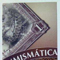 Sellos: SELLOS FILATELIA DIPTICO INFORMATIVO NUMISMATICA 2014. Lote 167811892