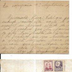 Sellos: == CM89 - CARTA CON CENSURA MILITAR REPUBLICA ESPAÑOLA . Lote 168265476