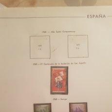Sellos: ALBUM DE SELLOS ESPAÑA.. Lote 168296089