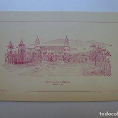 Selos: MENÚ HOTEL SANTA CATALINA. LAS PALMAS. IX EXPOSICIÓN FILATÉLICA Y NUMISMÁTICA 1983. Lote 171091855