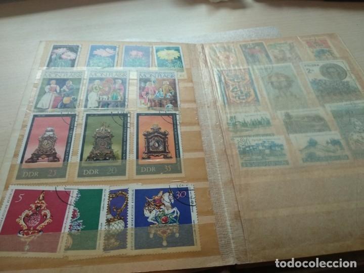 Sellos: Álbum de sellos variado con sellos mata sellados. - Foto 4 - 174053234