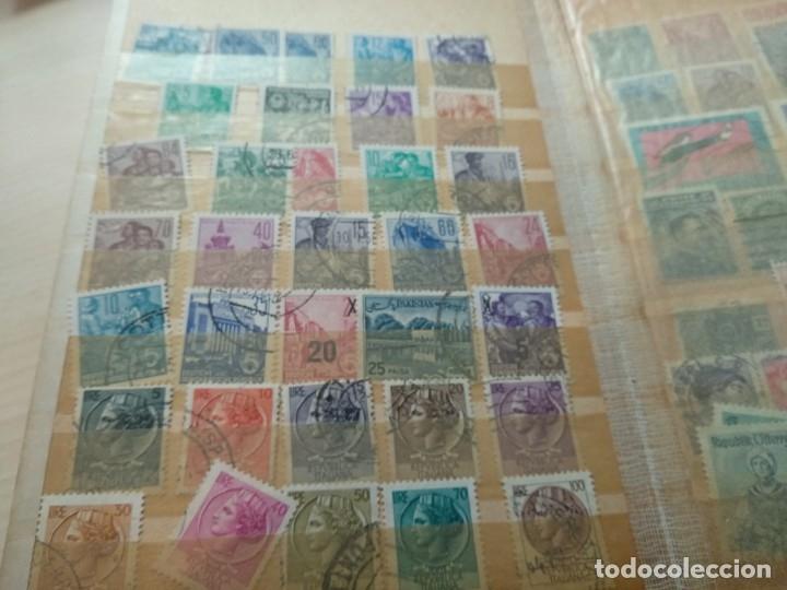 Sellos: Álbum de sellos variado con sellos mata sellados. - Foto 7 - 174053234
