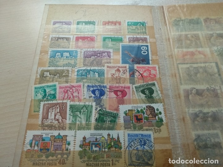 Sellos: Álbum de sellos variado con sellos mata sellados. - Foto 9 - 174053234