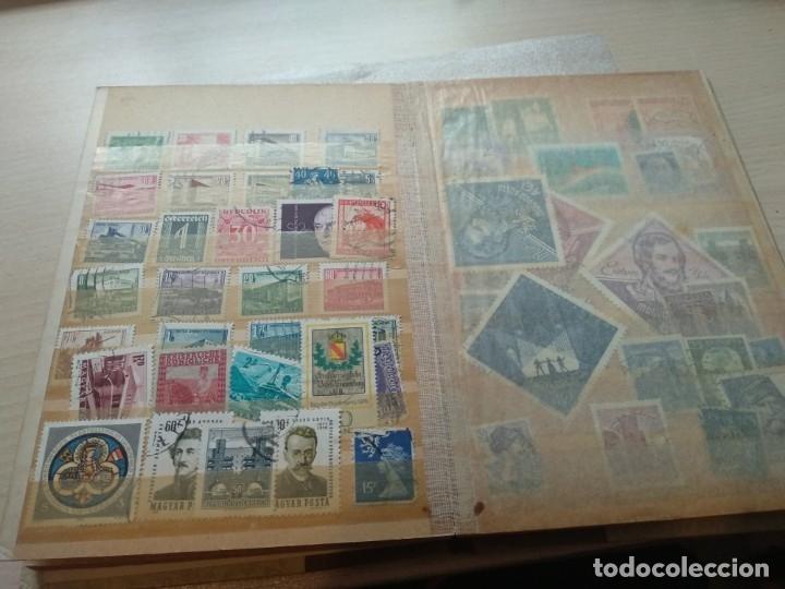 Sellos: Álbum de sellos variado con sellos mata sellados. - Foto 13 - 174053234