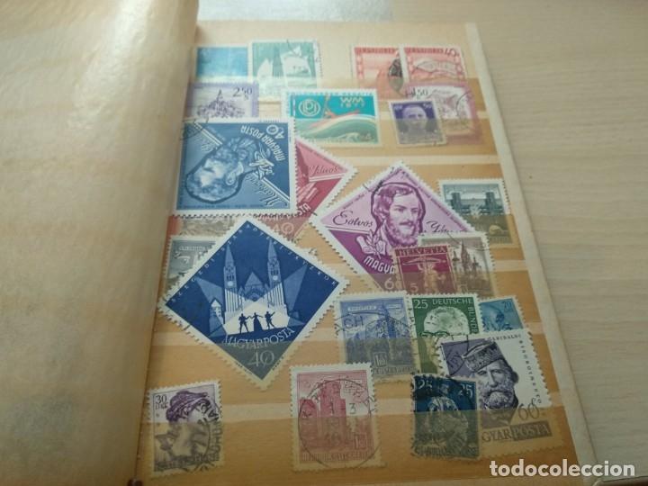 Sellos: Álbum de sellos variado con sellos mata sellados. - Foto 14 - 174053234