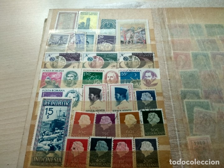Sellos: Álbum de sellos variado con sellos mata sellados. - Foto 18 - 174053234