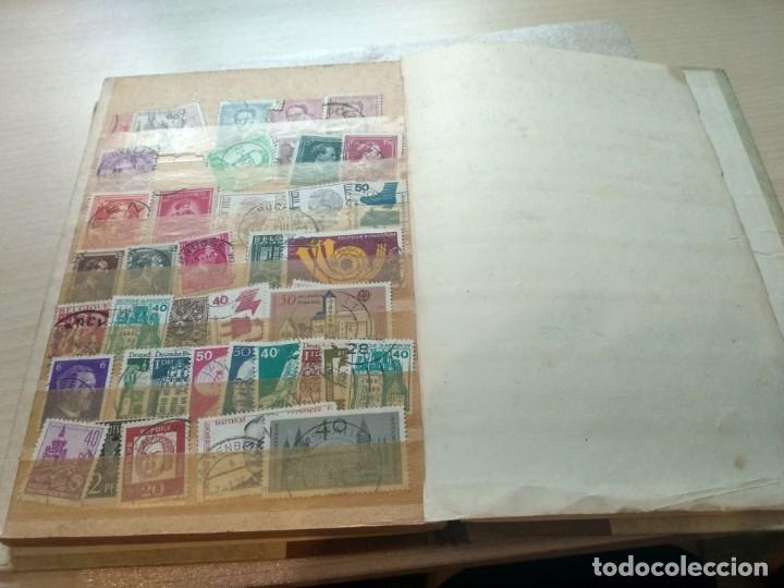 Sellos: Álbum de sellos variado con sellos mata sellados. - Foto 20 - 174053234