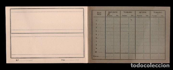 Sellos: C16-9 CASA M. GALVEZ Fundada en 1863 Libreta - catálpgo de finales siglo XIX, especial para la venta - Foto 2 - 174195040