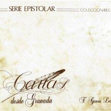 Sellos: SERIE EPISCOPAL-CARTAS DESDE GRANADA F.GARCIA LORCA . Lote 175621485