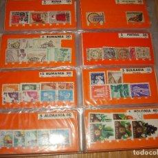 Sellos: COLECCION DE SELLOS DE TODO EL MUNDO. Lote 175756530