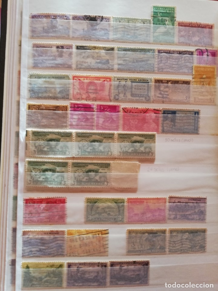Sellos: Sellos antiguos. Gran Colección de Sellos (Más de 15000) Con todas las fotos de la colección. - Foto 10 - 174471534
