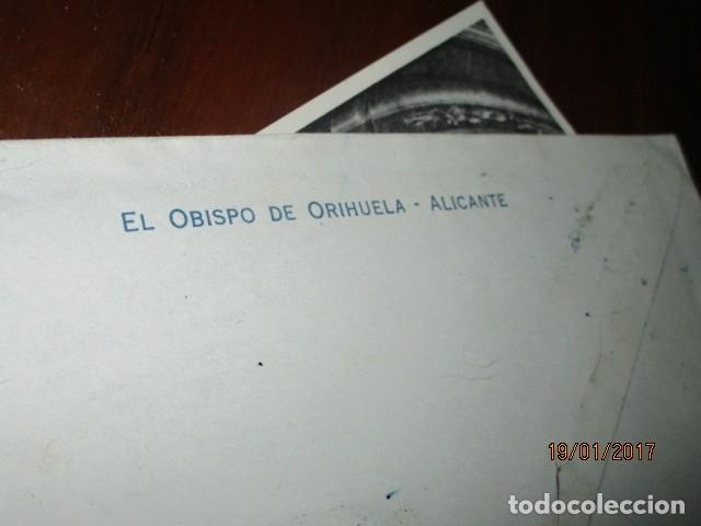 Sellos: carta antigua obispado ORIHUELA ALICANTE ALICANTE FELICITACION SELLO OFICIAL - Foto 9 - 42926352