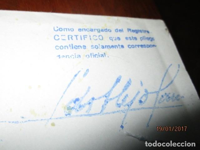 Sellos: carta antigua obispado ORIHUELA ALICANTE ALICANTE FELICITACION SELLO OFICIAL - Foto 5 - 42926352