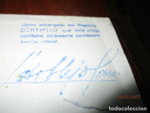 Sellos: carta antigua obispado ORIHUELA ALICANTE ALICANTE FELICITACION SELLO OFICIAL - Foto 11 - 42926352