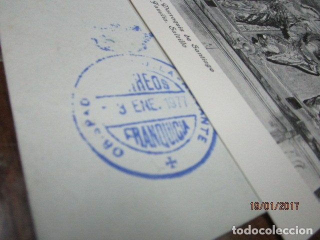 Sellos: carta antigua obispado ORIHUELA ALICANTE ALICANTE FELICITACION SELLO OFICIAL - Foto 14 - 42926352