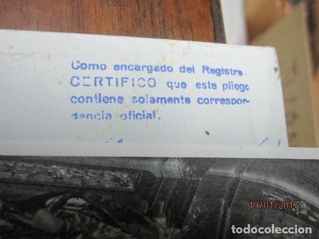 Sellos: carta antigua obispado ORIHUELA ALICANTE ALICANTE FELICITACION SELLO OFICIAL - Foto 10 - 42926352