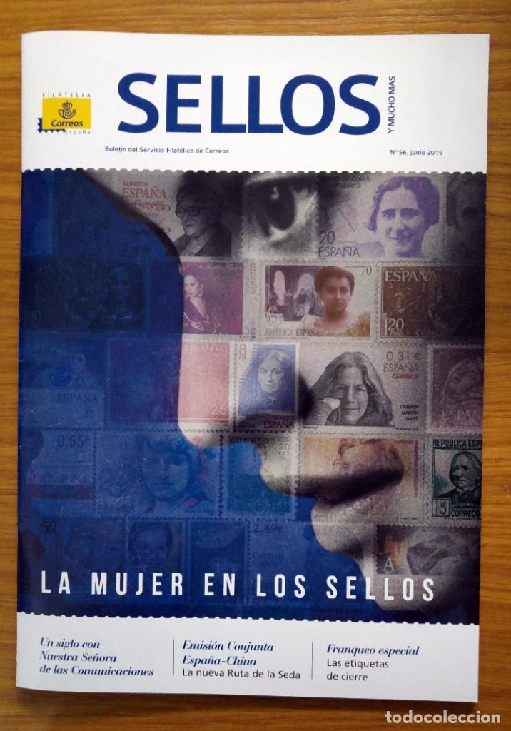 SELLOS: LOTE DE 2 REVISTAS FILATÉLICAS Nº 56 Y 57 (Sellos - Material Filatélico - Otros)