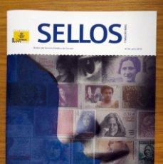 Sellos: SELLOS: LOTE DE 2 REVISTAS FILATÉLICAS Nº 56 Y 57. Lote 177816464
